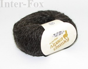 Superfine Alpaca Chunky, kolor 2694 Charcoal.