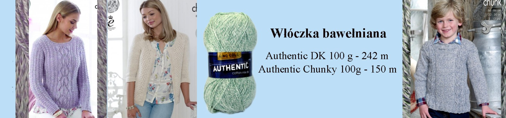 wlóczka AUTHENTIC